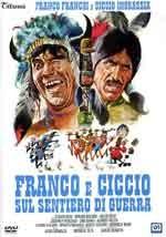 Franco e Ciccio sul sentiero di guerra - Film Completo